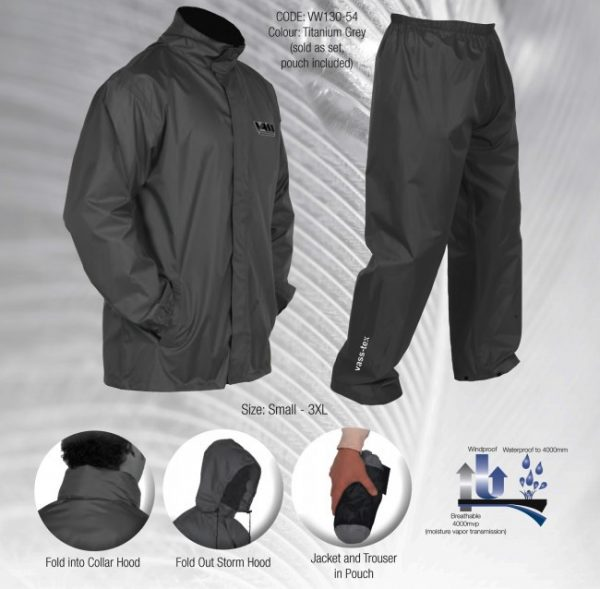 Vass Rainsuit S