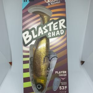 Fiiish Blaster Shad 130 White Coco 38g