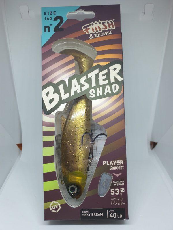Fiiish Blaster Shad 160 Sexy Bream 53g