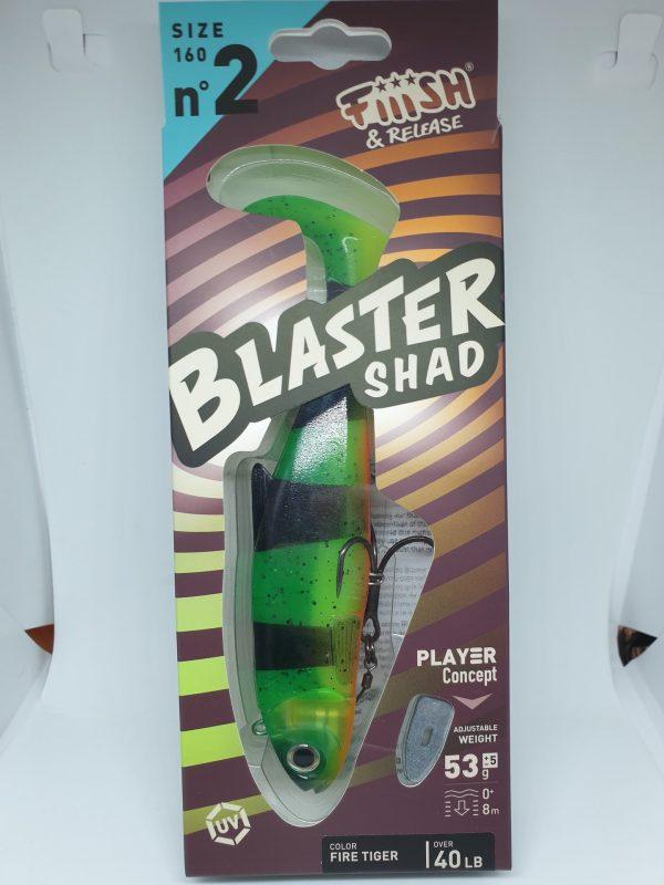 Fiiish Blaster Shad 160 Fire Tiger 53g