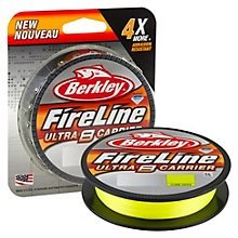 Berkley Fireline Ultra Carrier 14lb Flame Green