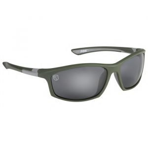 Fox Wraps Green Silver Sunglasses