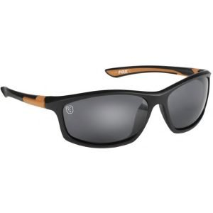 Fox Wraps Black Orange Sunglasses