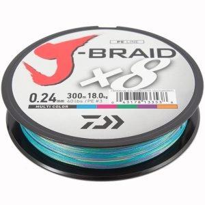 Daiwa J-Braid 0.28 58lb 500m Mc