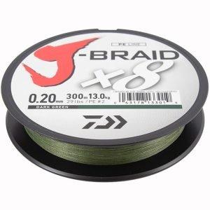 Daiwa J-Braid 0.06 9lb 150m Dark Green