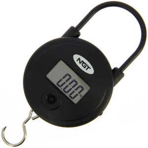 NGT Quickfish Scales - Digital Round 55lb / 25kg Scales
