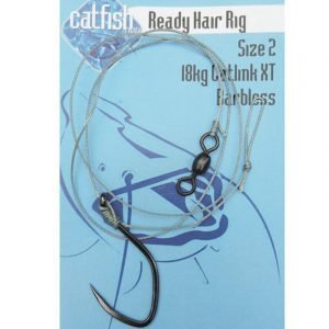 Catfish-Pro Heavy Hair Rig Size 1/0 Barbless